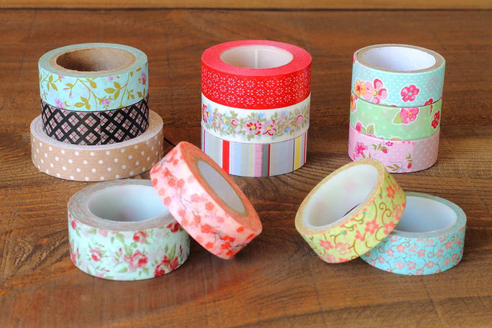 Manualidades con washi tape