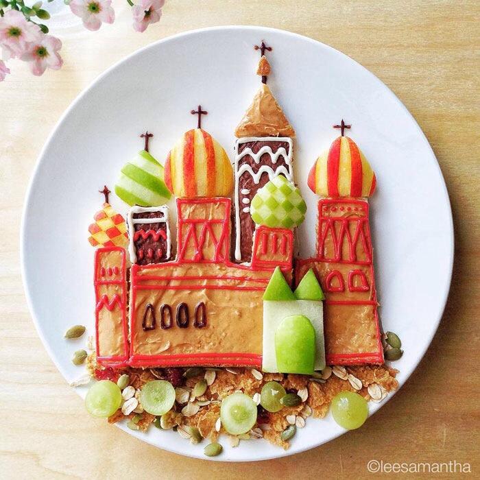 Cuando la comida es un arte