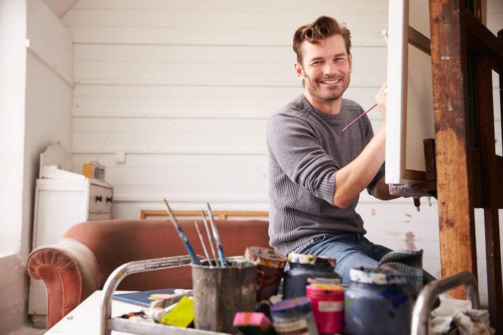 Amor por la pintura
