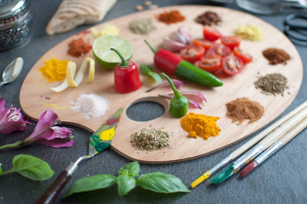 El arte culinario, o la forma creativa de elaborar los alimentos